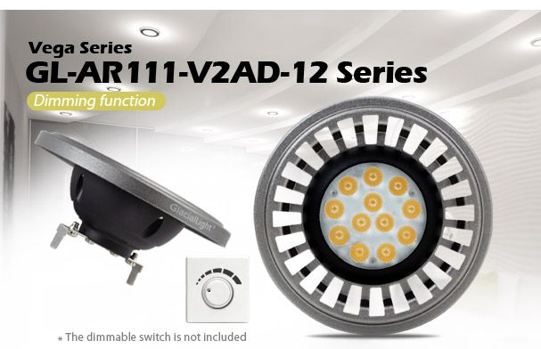 AR111 12W DIMMABLE